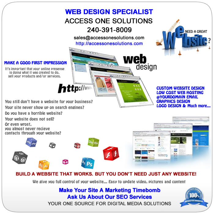 Website & Graphics Design